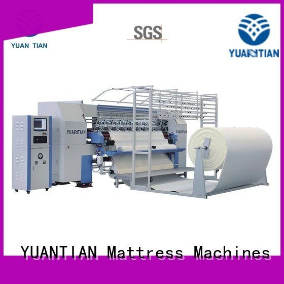bhf1 highspeed quilting machine for mattress price YUANTIAN Mattress Machines