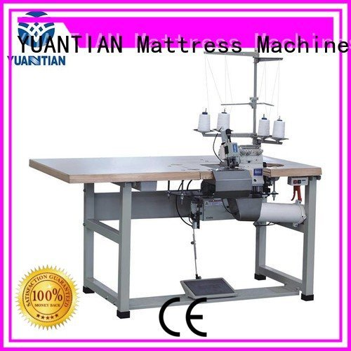YUANTIAN Mattress Machines Brand flanging heads Double Sewing Heads Flanging Machine