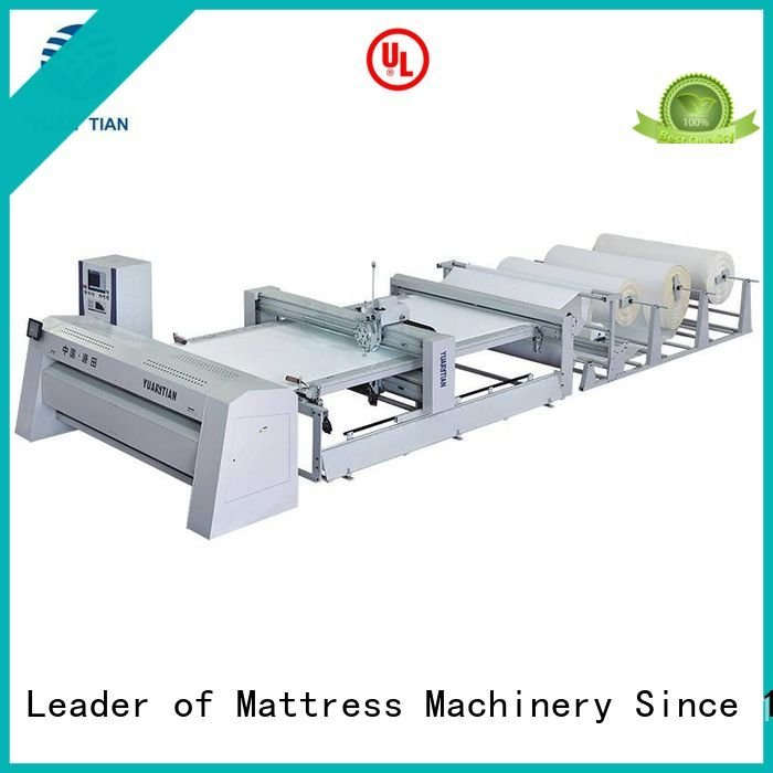 YUANTIAN Mattress Machines side singleneedle multineedle quilting machine for mattress price four