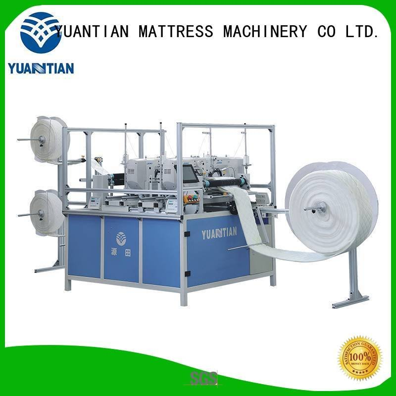 Quality quilting machine for mattress price YUANTIAN Mattress Machines Brand needle quilting machine for mattress
