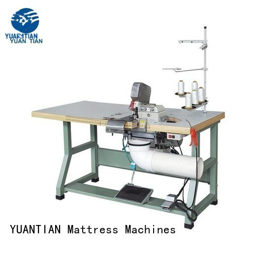 Heavy Duty Mattress Flanging Machine double flanging machine manufacturers YUANTIAN Mattress Machines