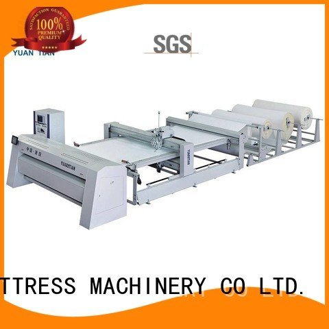 YUANTIAN Mattress Machines quilting machine for mattress price multineedle stitching side