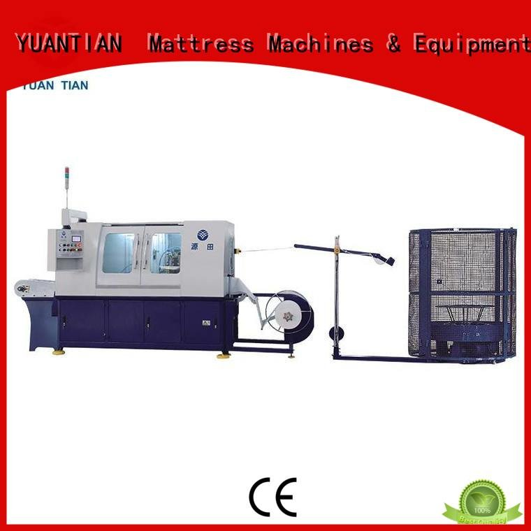 production spring pocket YUANTIAN Mattress Machines Automatic High Speed Pocket Spring Machine