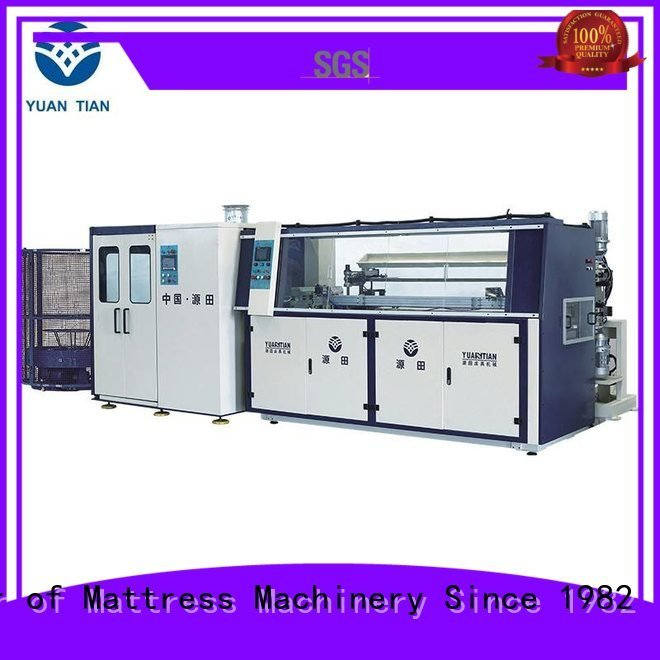 bonnell spring machine machine tx012 Automatic Bonnell Spring Coiling Machine YUANTIAN Mattress Machines Brand