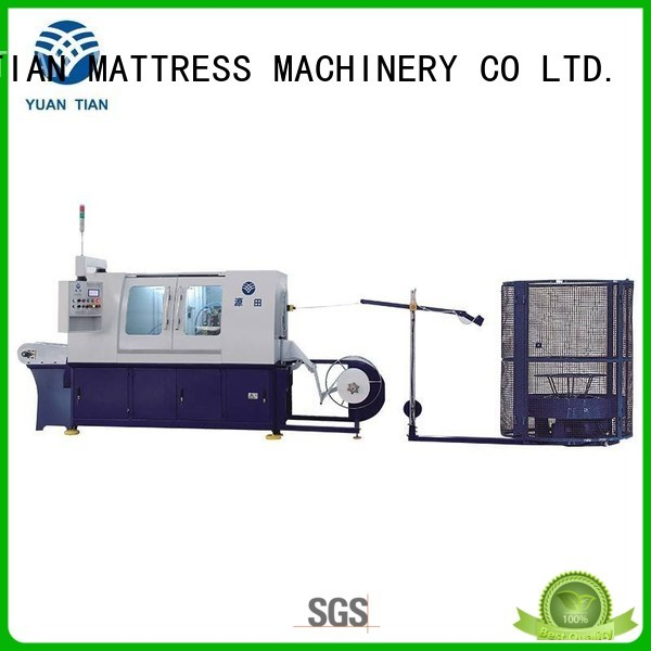 YUANTIAN Mattress Machines Brand pocketspring coiling Automatic High Speed Pocket Spring Machine manufacture