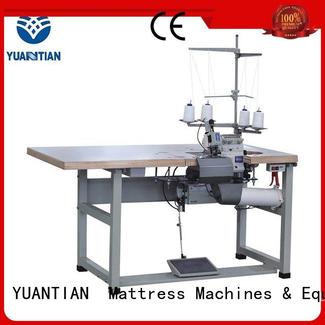 Double Sewing Heads Flanging Machine ds7a ds8a double YUANTIAN Mattress Machines