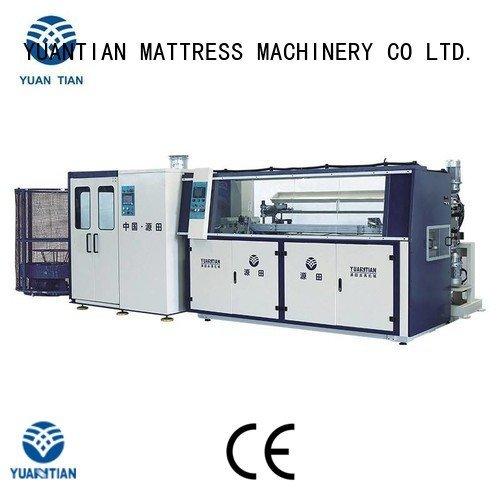 bonnell spring machine machine Automatic Bonnell Spring Coiling Machine YUANTIAN Mattress Machines Brand