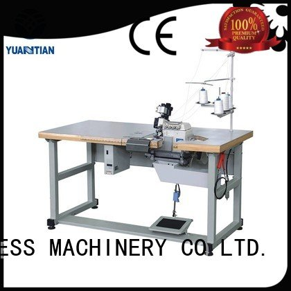 Double Sewing Heads Flanging Machine sewing flanging Mattress Flanging Machine YUANTIAN Mattress Machines Brand