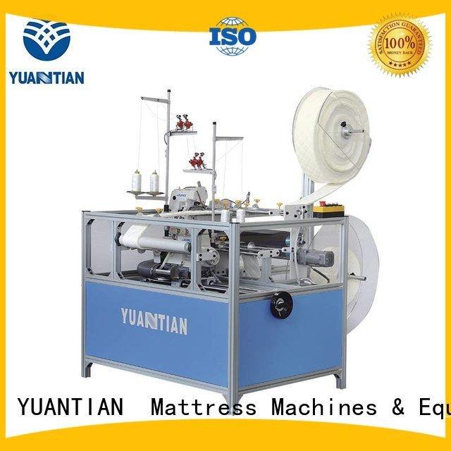 Double Sewing Heads Flanging Machine mattress machine YUANTIAN Mattress Machines Brand