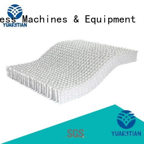 with nested mattress spring unit pocket YUANTIAN Mattress Machines