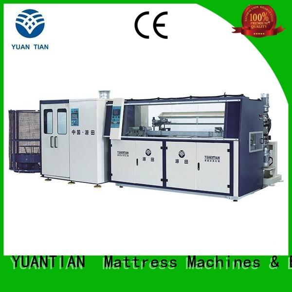 YUANTIAN Mattress Machines Brand coiler line bonnell spring machine unit