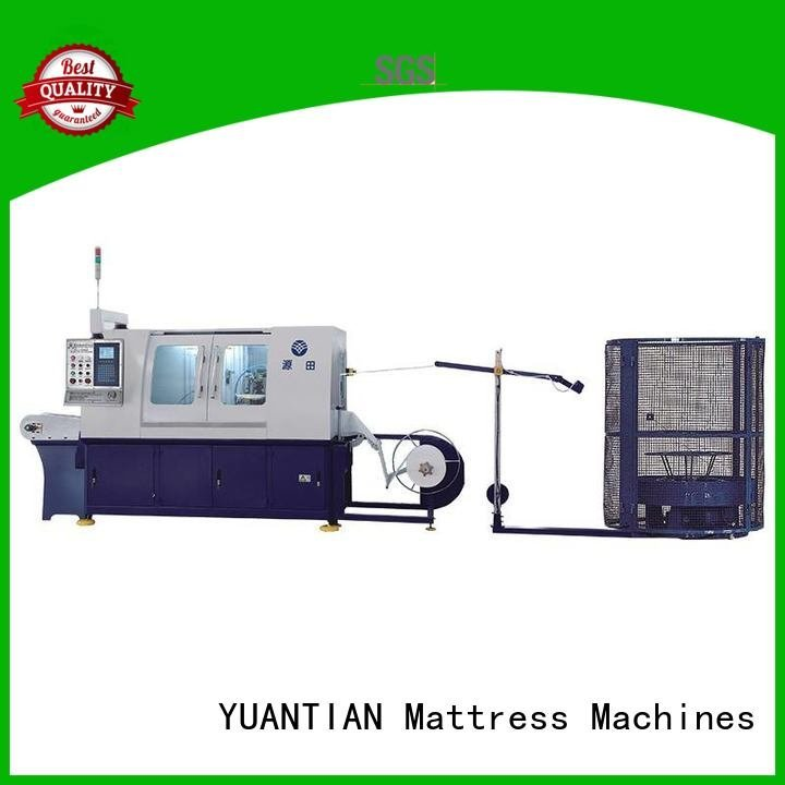 Automatic Pocket Spring Machine line Automatic High Speed Pocket Spring Machine YUANTIAN Mattress Machines Brand