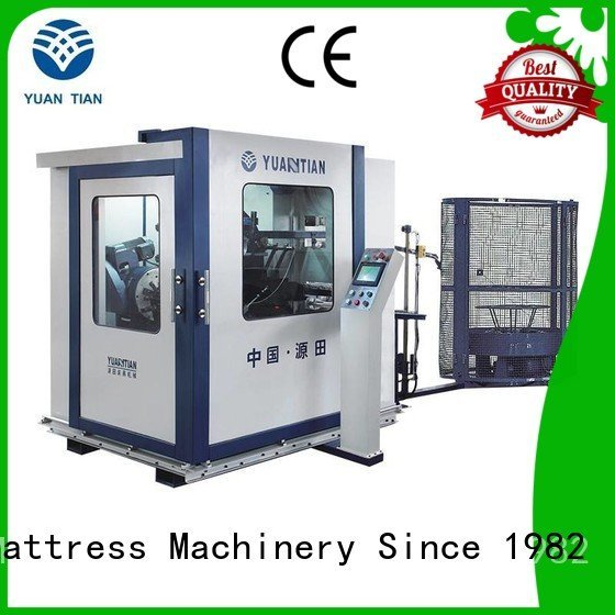 Hot bonnell spring machine line Automatic Bonnell Spring Coiling Machine zj3 YUANTIAN Mattress Machines