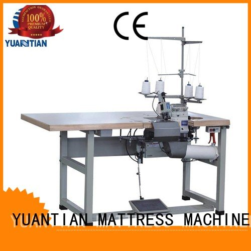 Double Sewing Heads Flanging Machine heavyduty double flanging multifunction YUANTIAN Mattress Machines