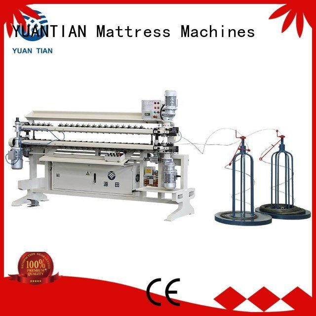 YUANTIAN Mattress Machines Brand assembling cw2 machine Bonnell Spring Assembly  Machine semiauto