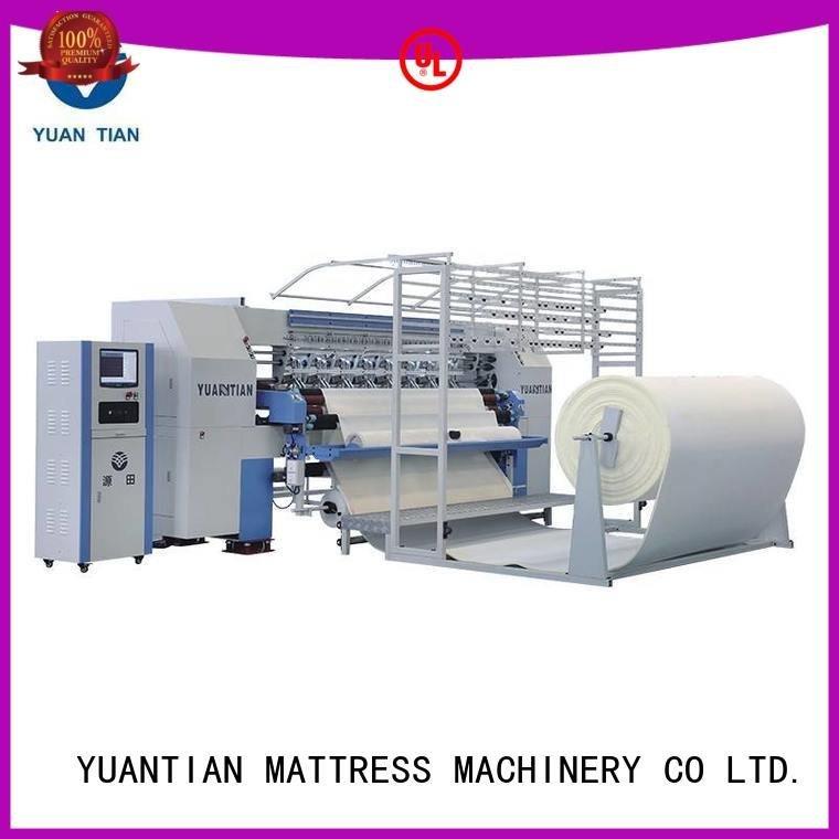 Custom quilting machine for mattress mattress stitching singleneedle YUANTIAN Mattress Machines