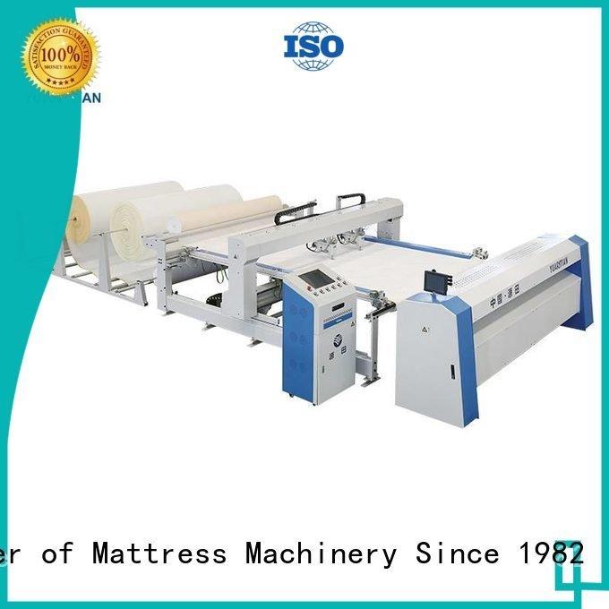 quilting machine for mattress price lockstitch machine YUANTIAN Mattress Machines Brand