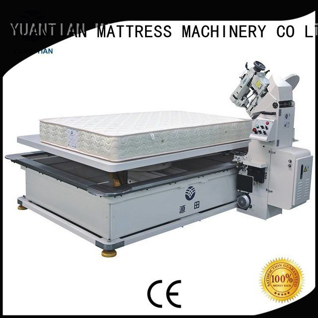 YUANTIAN Mattress Machines wb4a binding tape mattress tape edge machine table