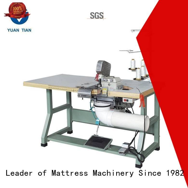 YUANTIAN Mattress Machines Brand flanging Double Sewing Heads Flanging Machine double mattress