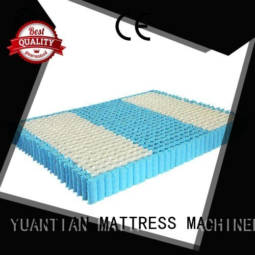 YUANTIAN Mattress Machines Brand bottom top mattress spring unit spring zoned