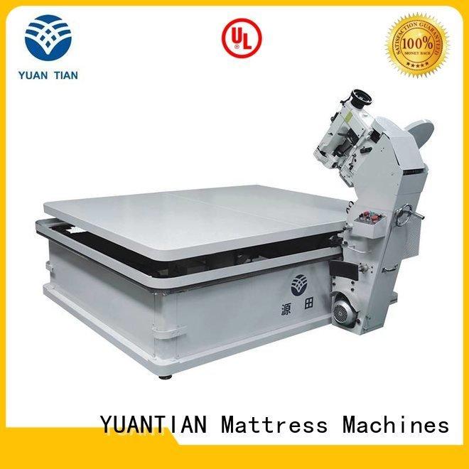 tape machine binding YUANTIAN Mattress Machines Brand mattress tape edge machine supplier