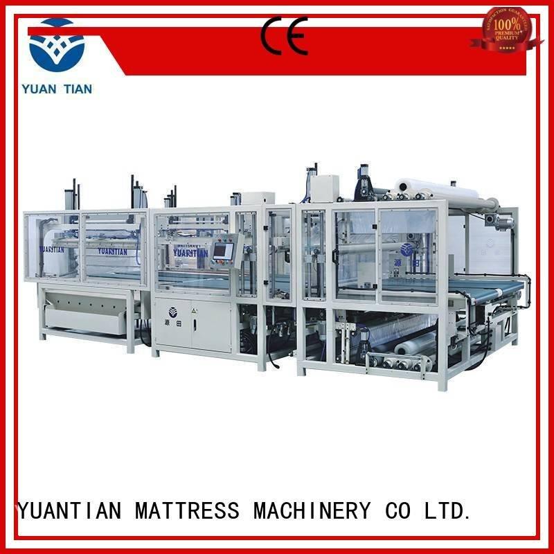 foam mattress making machine wire mattress packing machine bz3 YUANTIAN Mattress Machines