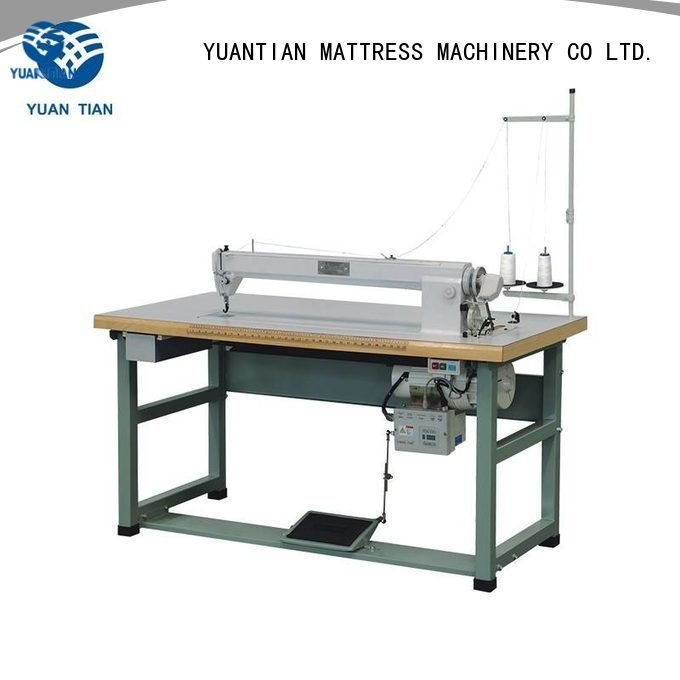 Custom mattress sewing machine manufacturers computerized dc1 cb1 YUANTIAN Mattress Machines
