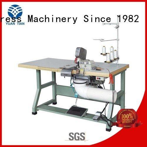 Double Sewing Heads Flanging Machine flanging YUANTIAN Mattress Machines Brand Mattress Flanging Machine