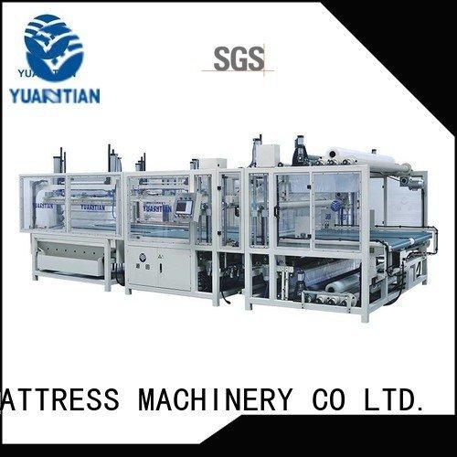 Custom mattress packing machine unit straightening mattress YUANTIAN Mattress Machines
