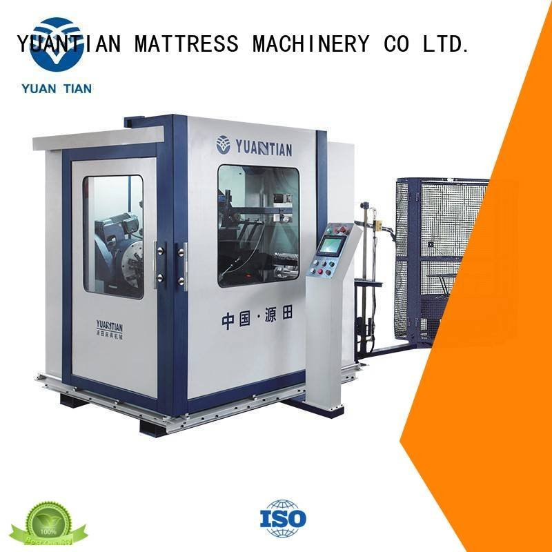 YUANTIAN Mattress Machines Brand unit bonnell tx012 Automatic Bonnell Spring Coiling Machine line