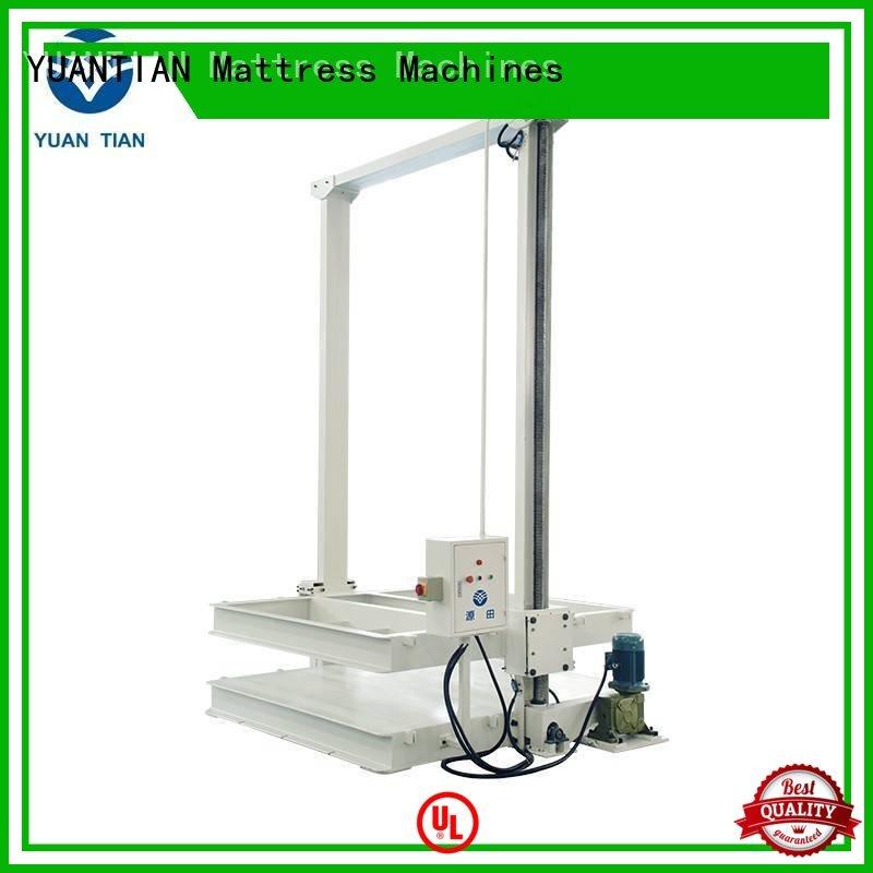 automatic poket mattress packing YUANTIAN Mattress Machines Brand mattress packing machine supplier