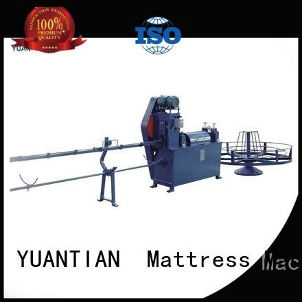 wire straightening qw4 YUANTIAN Mattress Machines mattress packing machine