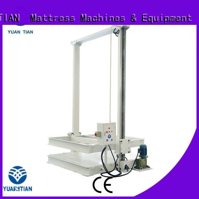 YUANTIAN Mattress Machines Brand poket unpressing foam mattress making machine