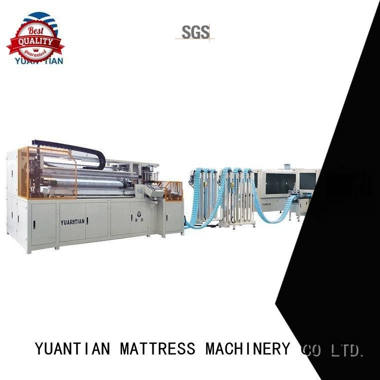 Automatic Pocket Spring Machine dt012 Automatic High Speed Pocket Spring Machine YUANTIAN Mattress Machines