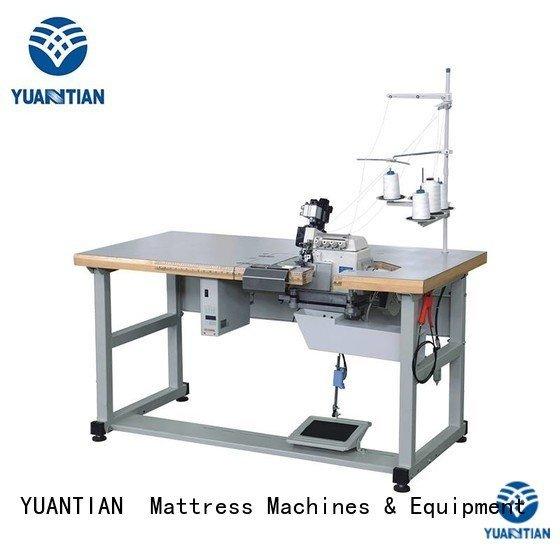 heavyduty ds5b flanging Mattress Flanging Machine YUANTIAN Mattress Machines