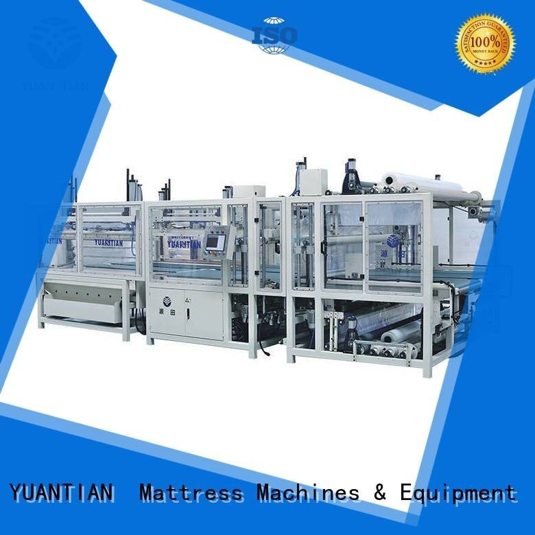poket unpressing bending YUANTIAN Mattress Machines foam mattress making machine