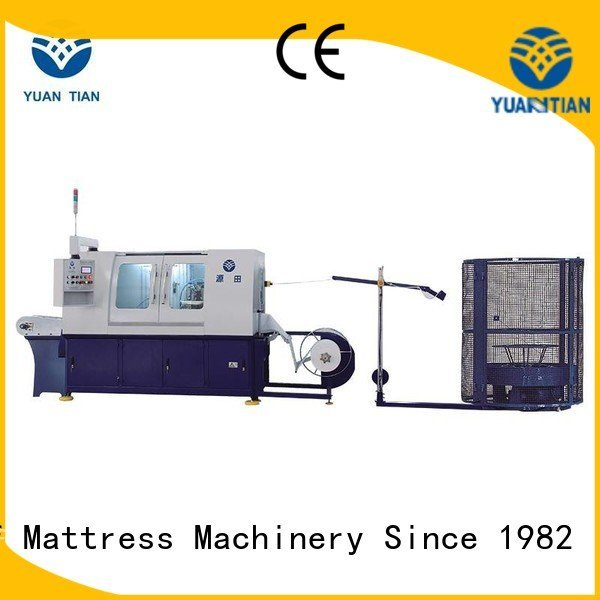 YUANTIAN Mattress Machines Brand pocketspring spring assembling Automatic High Speed Pocket Spring Machine