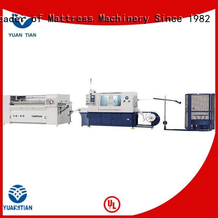 YUANTIAN Mattress Machines pocketspring automatic Automatic High Speed Pocket Spring Machine assembling speed