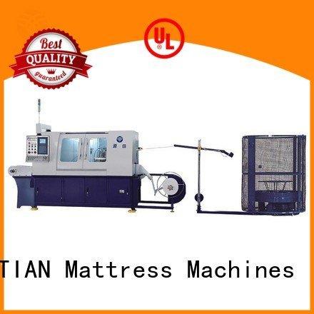 speed high YUANTIAN Mattress Machines Automatic Pocket Spring Machine