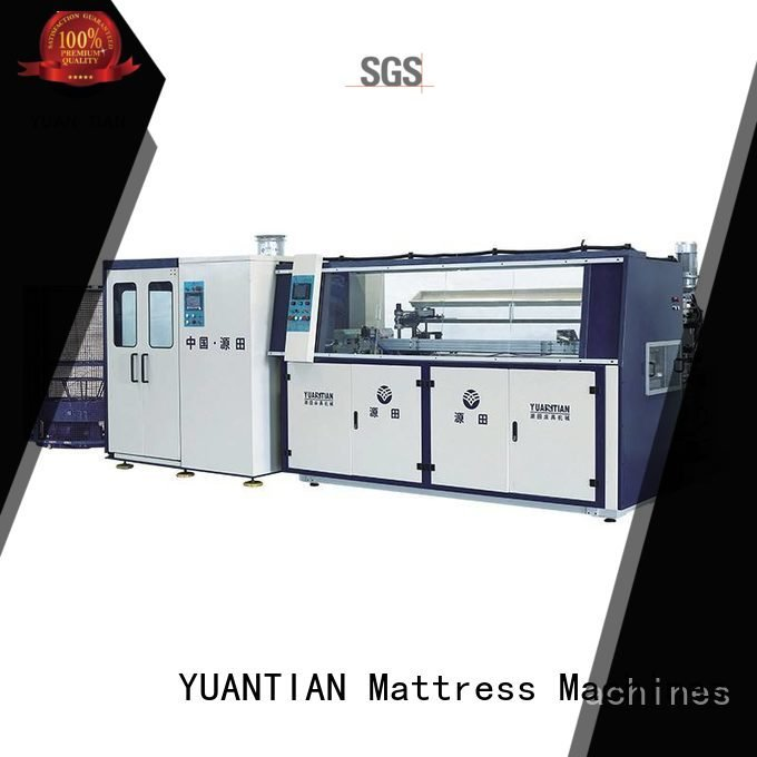 YUANTIAN Mattress Machines Brand unit coiler Automatic Bonnell Spring Coiling Machine machine line