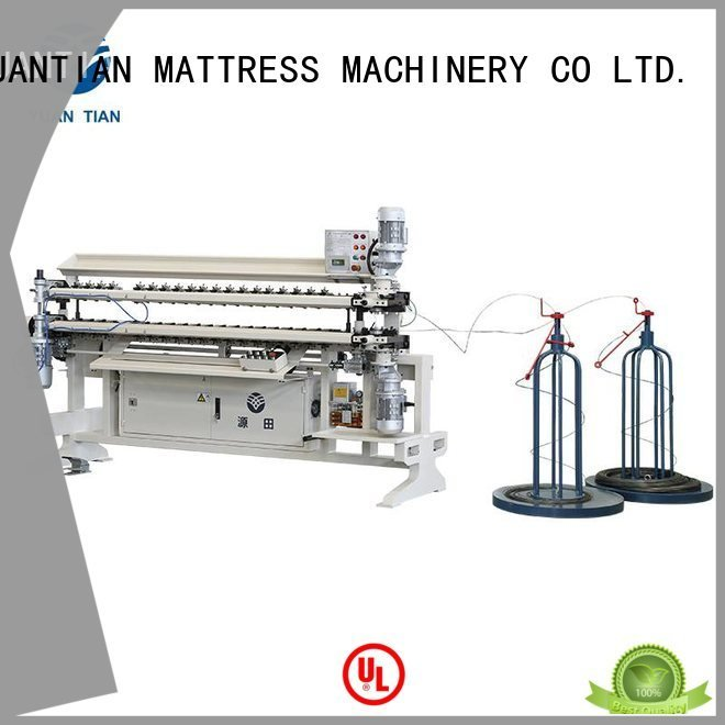 spring semiauto assembling Bonnell Spring Assembly  Machine YUANTIAN Mattress Machines