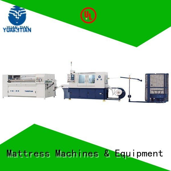 Automatic Pocket Spring Machine assembling pocketspring Automatic High Speed Pocket Spring Machine YUANTIAN Mattress Machines Br