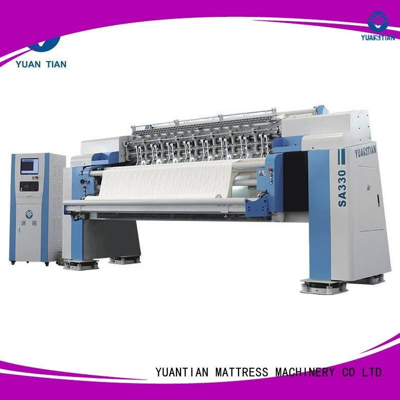 multi needle quilting machine heads quilting machine for mattress YUANTIAN Mattress Machines