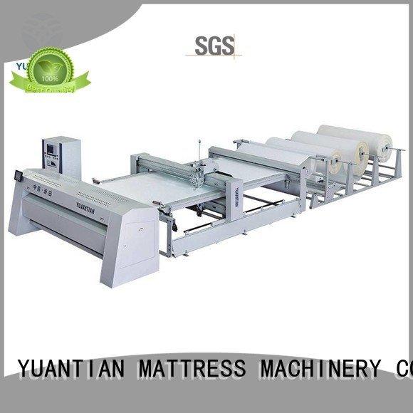 single needle border singleneedle YUANTIAN Mattress Machines quilting machine for mattress