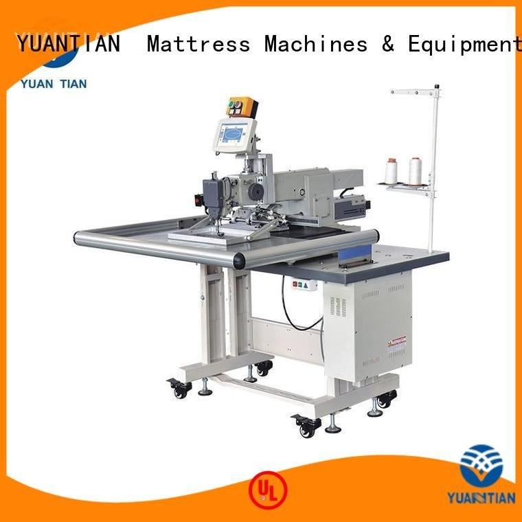 Custom Mattress Sewing Machine arm long label YUANTIAN Mattress Machines