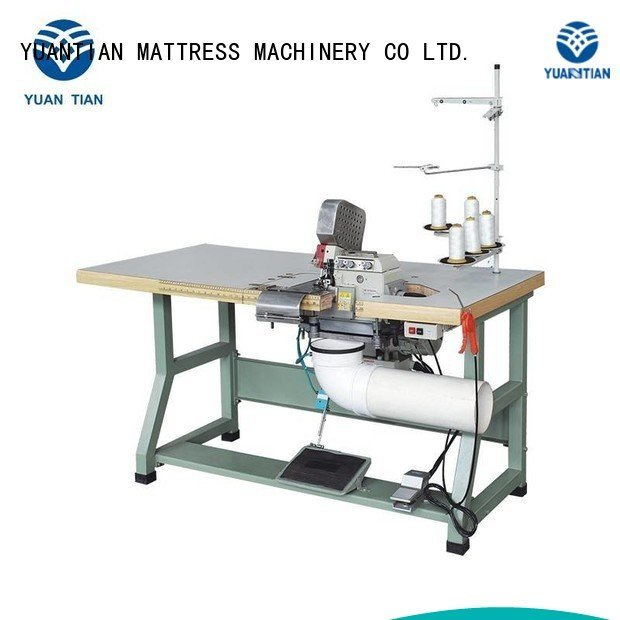 Double Sewing Heads Flanging Machine sewing heavyduty mattress YUANTIAN Mattress Machines