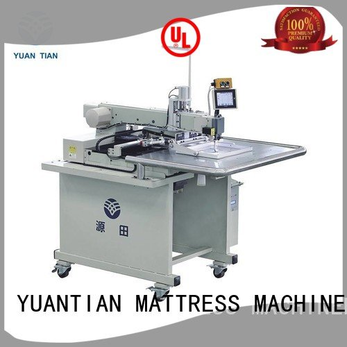 Custom Mattress Sewing Machine label mattress computerized YUANTIAN Mattress Machines