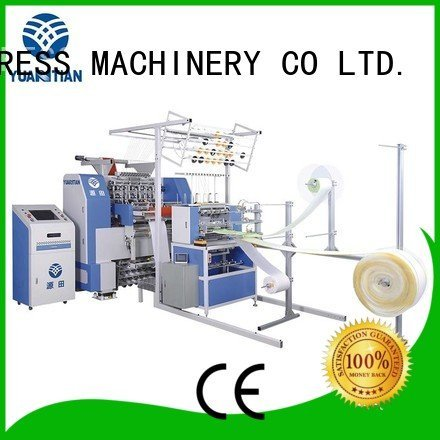 Quality quilting machine for mattress price YUANTIAN Mattress Machines Brand multineedle quilting machine for mattress