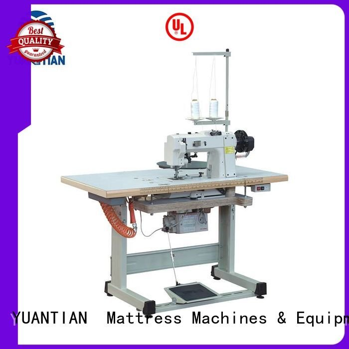 YUANTIAN Mattress Machines tape mattress binding mattress tape edge machine table