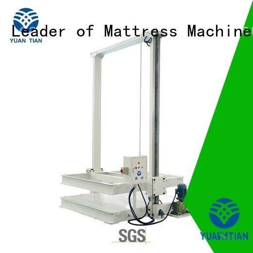 poket spring Quality foam mattress making machine YUANTIAN Mattress Machines Brand automatic mattress packing machine unit